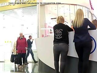Ass blonde